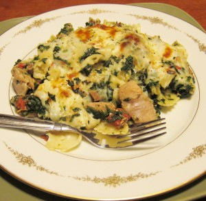Easy Chicken Spinach Casserole