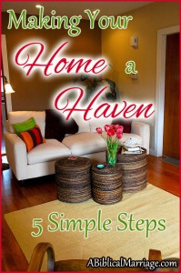 Five ways to make your home a haven