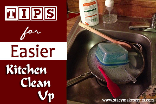 Tips For Easier Kitchen Clean Up